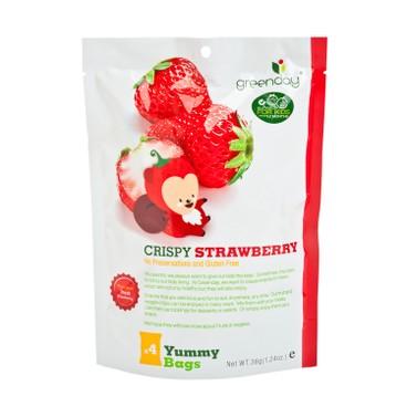 GREENDAY - 開心水果農場士多啤梨脆片 - 36G
