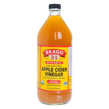 BRAGG(平行進口) - 有機蘋果醋 - 32OZ