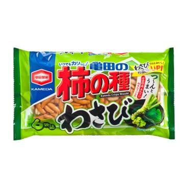 KAMEDA - Crisps And Peanuts Wasabi Flavor - 182G