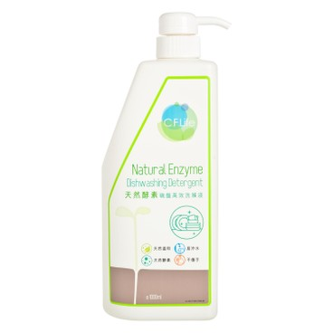 CF LIFE BY CHOI FUNG HONG - Natural Enzyme Dish Washing Detergent - 1L