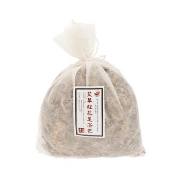 四季養生茶館 - 艾草紅花足浴包 - 40G