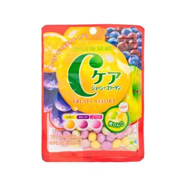 UHA - C Care 膠原蛋白果汁糖-雜果味 - 60G