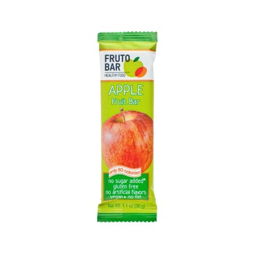 FRUTO BAR - Apple Fruit Bar - 30G