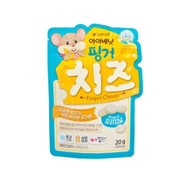 貝貝 - 營養芝士粒-原味 - 20G