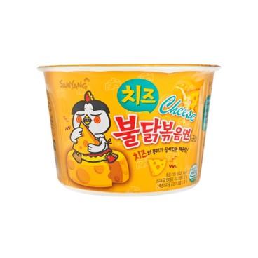 SAMYANG - Big Bowl Noodle hot Chicken Cheese Stir Ramen - 105G