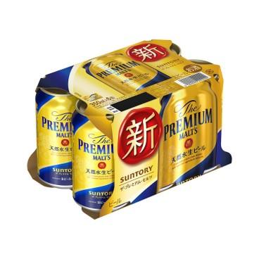 三得利啤酒 頂級啤酒 350MLX6