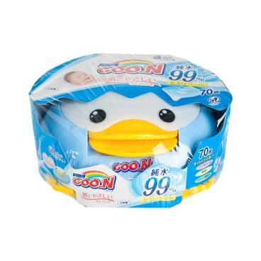GOO.N大王(香港行貨) - 99% 純水柔潤濕紙巾 - 70'S