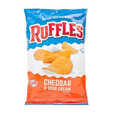 RUFFLES - 芝士忌廉味薯片 - 184.2G
