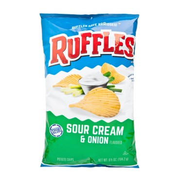 RUFFLES - 洋蔥忌廉味薯片 - 184.2G