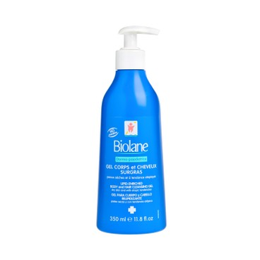 BIOLANE - 2 In 1 Body And Hair Cleansing Gel Dermo paediatricss - 350ML