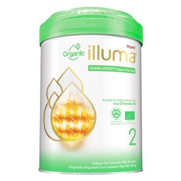 WYETH ILLUMA - Illuma Organic Stage 2 - 850G