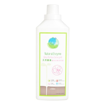 CF LIFE BY CHOI FUNG HONG - Natural Enzyme Baby Clothes Detergent - 1L