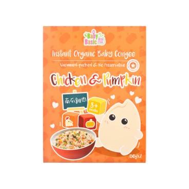 寶寶百味 - 即食有機米米粥 - 南瓜雞肉 - 150GX2