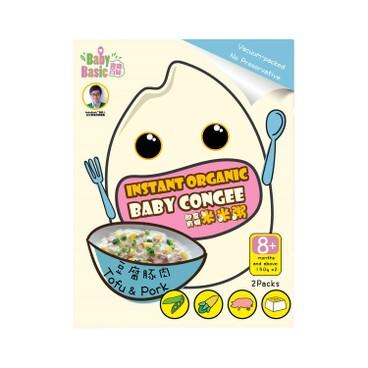 寶寶百味 - 即食有機米米粥 - 豆腐豚肉 - 150GX2