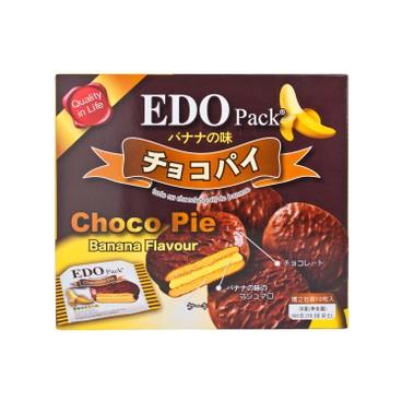 EDO PACK - Choco Pie banana Flavour - 300G