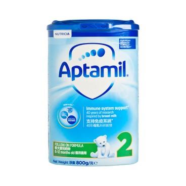 APTAMIL PRONUTRA - 較大嬰兒配方奶粉2段 - 800G