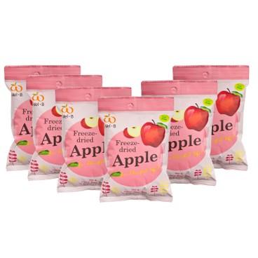 WEL-B - 全天然冷凍乾燥蘋果脆片-優惠裝 - 12GX6