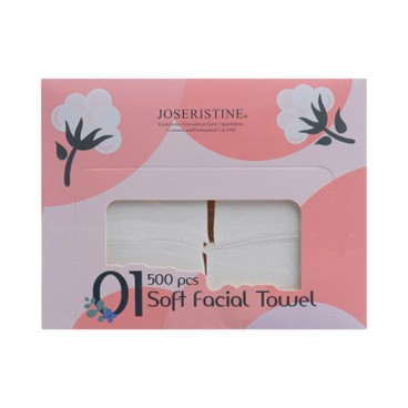 JOSERISTINE BY CHOI FUNG HONG - Soft Facial Towel - 500'S