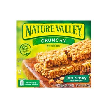 NATURE VALLEY - Crunchy Granola Bar oats N Honey - 253G