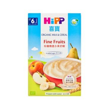 HIPP - Organic Milk Pap Fine Fruits Organic - 250G