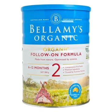 貝拉米 - 有機嬰兒奶粉2號 - 900G