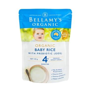BELLAMY'S ORGANIC - Organic Baby Rice - 125G