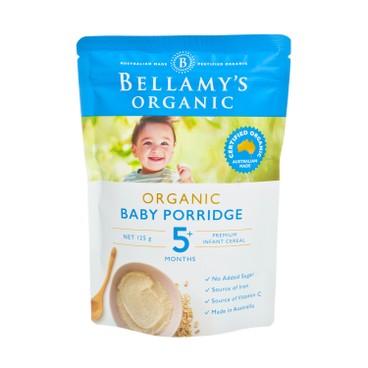 貝拉米 - 有機嬰兒燕麥糊 - 125G