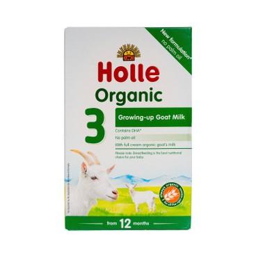 HOLLE - Organic Infant Goat Milk Follow on Formula 3 - 400G