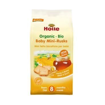 HOLLE - Organic Baby Mini Rusks - 100G