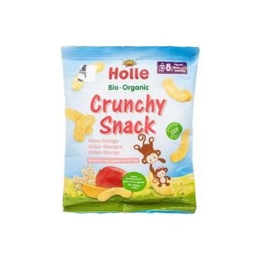 HOLLE - Organic Crunchy Millet Mango Snack - 25G