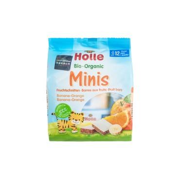 HOLLE - Organic Banana Orange Minis - 100G