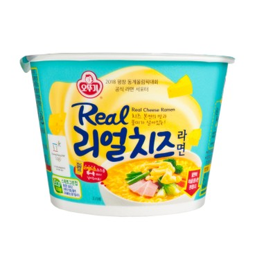 OTTOGI - Real Cheese Cup Noodle - 120G