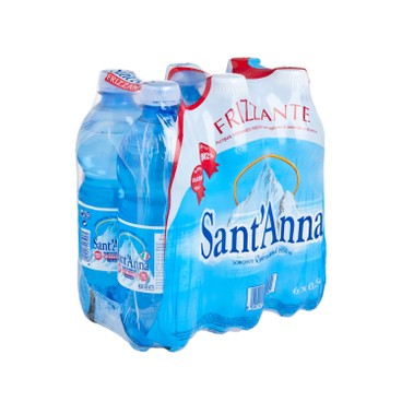 SANT' ANNA - Sparkling Mineral Water - 500MLX6
