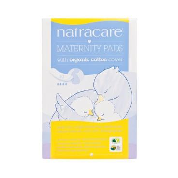 NATRACARE - 有機棉產後衛生巾 - 10'S