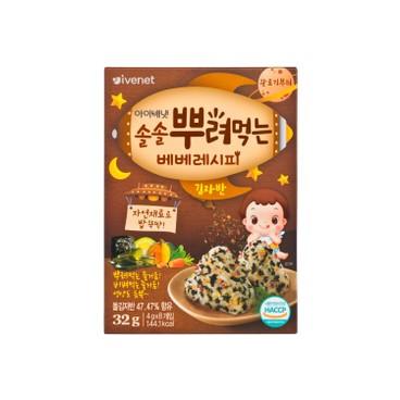 貝貝 - 營養拌飯紫菜芝麻碎粒-紫菜味 - 4GX8
