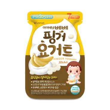 IVENET - Bebe Finger Yogurt banana - 20G