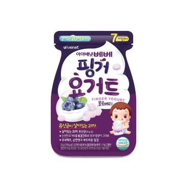 IVENET - Bebe Finger Yogurt bluberry - 20G