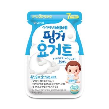 IVENET - Bebe Finger Yogurt plain - 20G