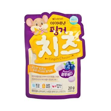 貝貝 - 營養芝士粒-藍莓味 - 20G