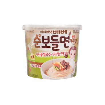 貝貝 - 速食營養拌米線-牛肉味 - 30G