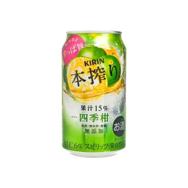 麒麟 - 本搾果汁汽酒-四季柑 - 350ML