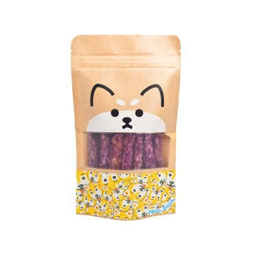 MISS.SNACK - Dried Chicken Oat Strips With Purple Sweet Potato - 80G