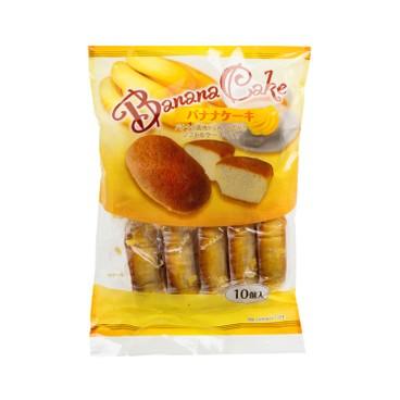 SHIAWASEDO - BANANA CAKE - 10'S