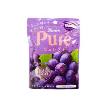 KANRO - Pure Gummy Grape - 56G