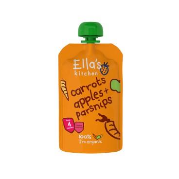 ELLA'S KITCHEN - 有機胡蘿蔔,蘋果及芹菜蘿蔔 - 120G