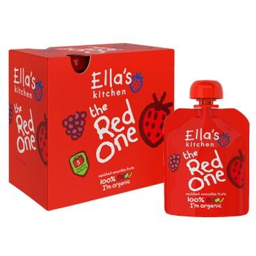 ELLA'S KITCHEN - 有機紅色雜果蓉多包(盒装) - 90GX5