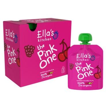 ELLA'S KITCHEN - 有機粉紅色雜果蓉多包(盒装) - 90GX5