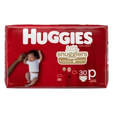 HUGGIES - Preemie Diaper - 30'S
