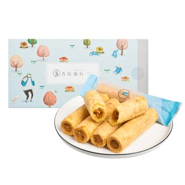 BLUE BIRD TRAVEL - Classic Flossy Pork Egg Rolls - 12'S