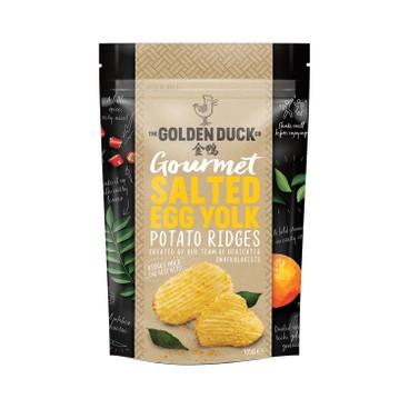 THE GOLDEN DUCK - Salted Egg Yolk Potato Crisps - 125G